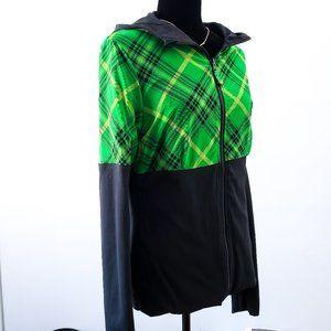 Reversible Lululemon Workout Hoodie Black Green